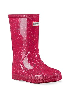 Hunter Baby's, Little Girl's & Girl's First Original Glitter Rain Boots