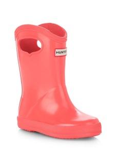 Hunter Baby's, Little Girl's & Girl's Glossy Rain Boots