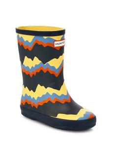 Hunter Baby's, Little Kid's & Kid's First Classic Storm Stripe Boots