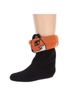 Hunter Cheeky Fox Cuff Boot Sock (Toddler/Little Kid/Big Kid)