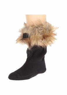 Hunter Faux Fur Cuff Boot Sock (Toddler/Little Kid/Big Kid)