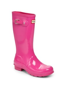 Hunter Girl's High Gloss Original Tall Rain Boots