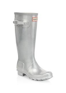 Hunter Girl's Original Cosmic Metallic Waterproof Boots