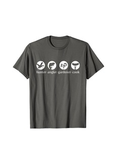 Hunter HAGC White Logo T-Shirt