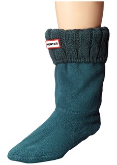 Hunter 6 Stitch Cable Boot Sock - Short