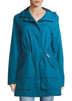 Hunter Boot Organic Cotton Waterproof Hooded Coat