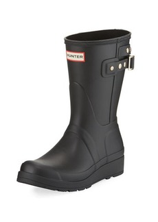 Hunter Boot Original Short Wedge Rain Boot