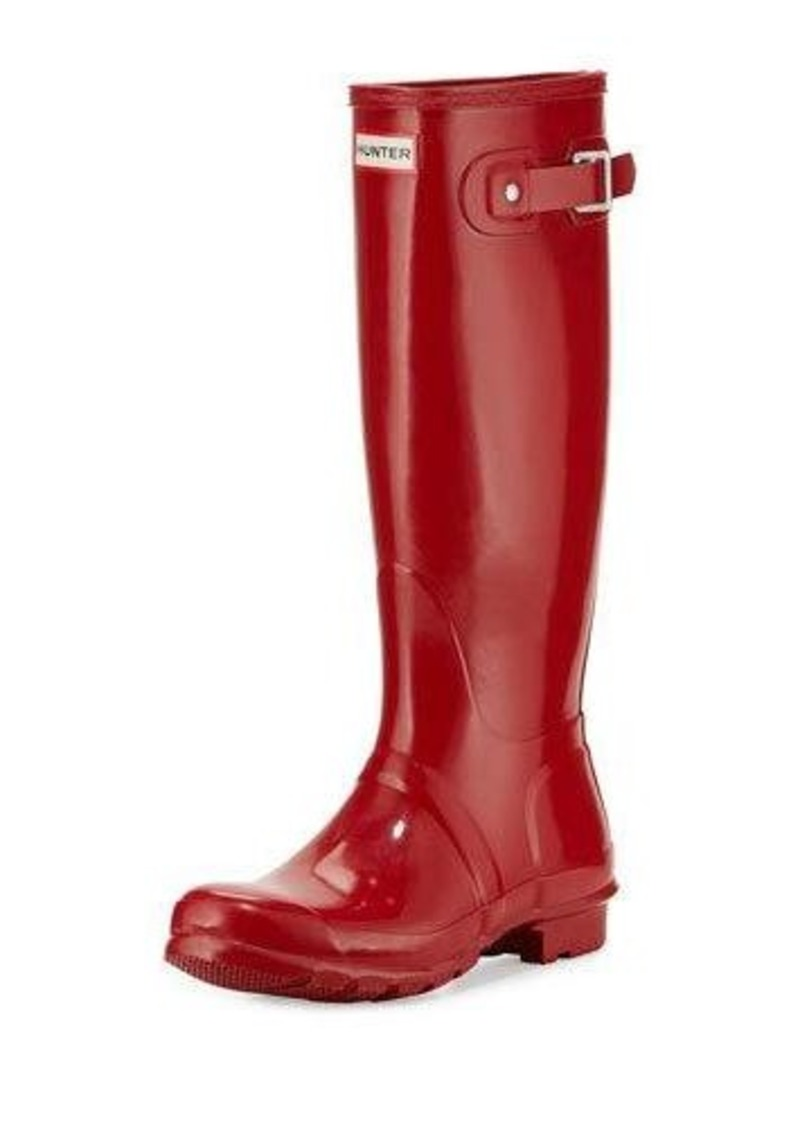 hunter hunter boot original tall gloss rain boot shoes shop it to me. Black Bedroom Furniture Sets. Home Design Ideas