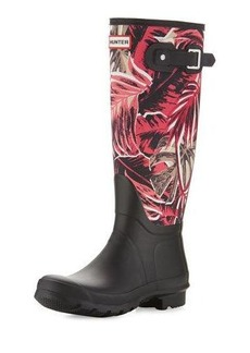 Hunter Boot Original Tall Jungle-Print Rain Boots