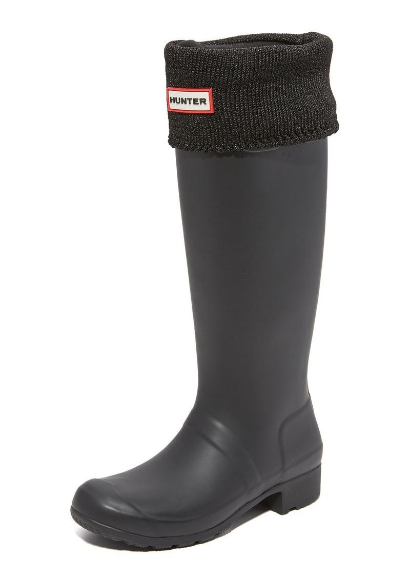 Hunter Hunter Boots Glitter Cuff Boot Socks