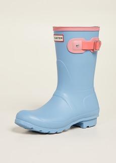 Hunter Boots Original Short Colorblock Boots