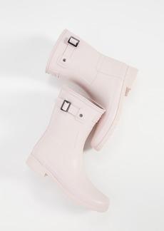 Hunter Boots Refined Short Matte Boots