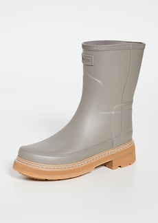 Hunter Boots Refined Short Stitch Boots