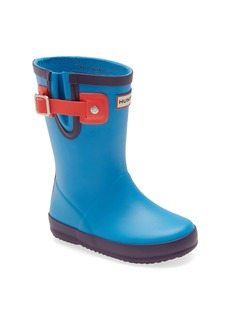 Hunter Buckle Strap Waterproof Rain Boot (Toddler)
