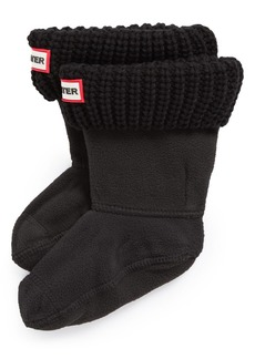 Hunter Cardigan Knit Cuff Welly Boot Socks (Walker, Toddler, Little Kid & Big Kid)