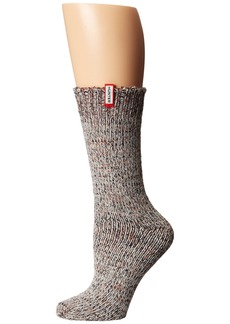 Hunter Chunky Mouline Sock