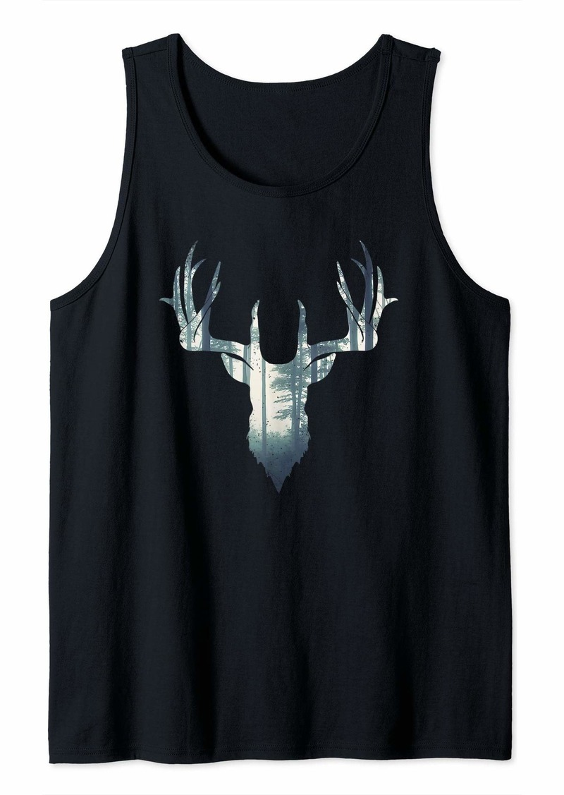 Hunter Deer Hunting | Forest Gift for Hunters Tank Top