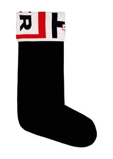 Hunter Exploded Logo Cuff Tall Boot Sock (Women)