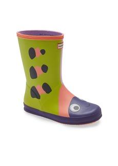 Hunter First Beetle Waterproof Rain Boot (Toddler & Little Kid)