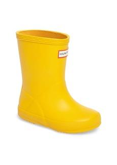 Hunter First Classic Waterproof Rain Boot (Walker, Toddler & Little Kid)