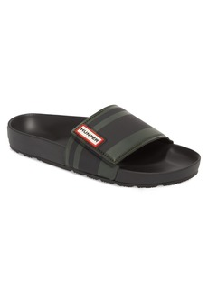 Hunter Garden Stripe Adjustable Sport Slide Sandal (Men)