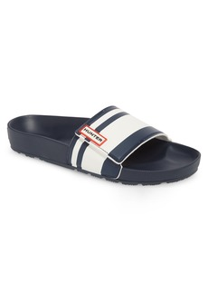Hunter Garden Stripe Adjustable Sport Slide Sandal (Men)