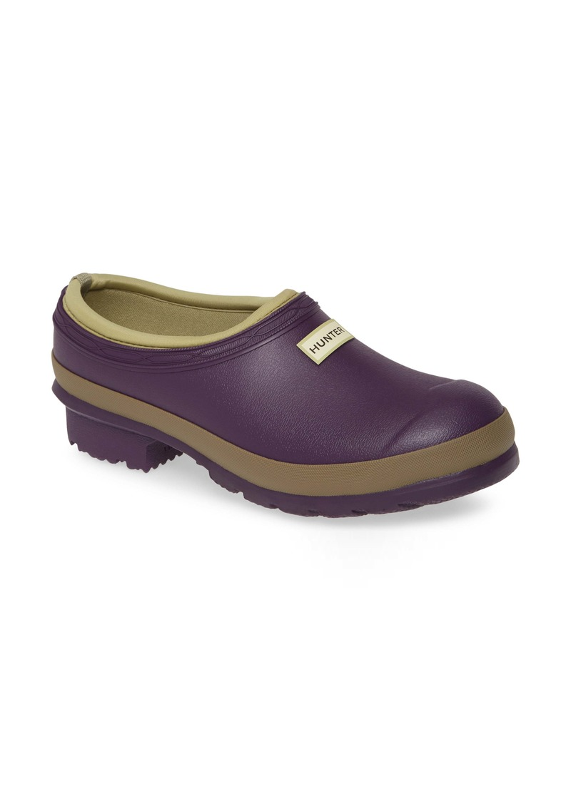 Hunter Garden Waterproof Clog (Women's Shoes)