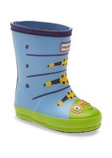 Hunter Kids' First Classic Waterproof Rain Boot (Walker & Toddler)
