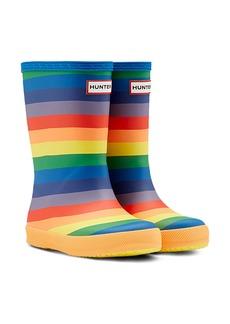 Hunter Kids First Norris Waterproof Rain Boot (Walker, Toddler & Little Kid)