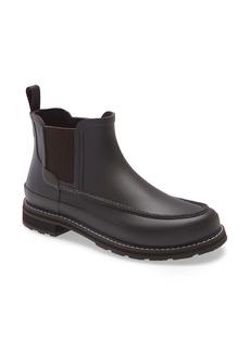 Hunter Moc Toe Waterproof Chelsea Rain Boot (Men)
