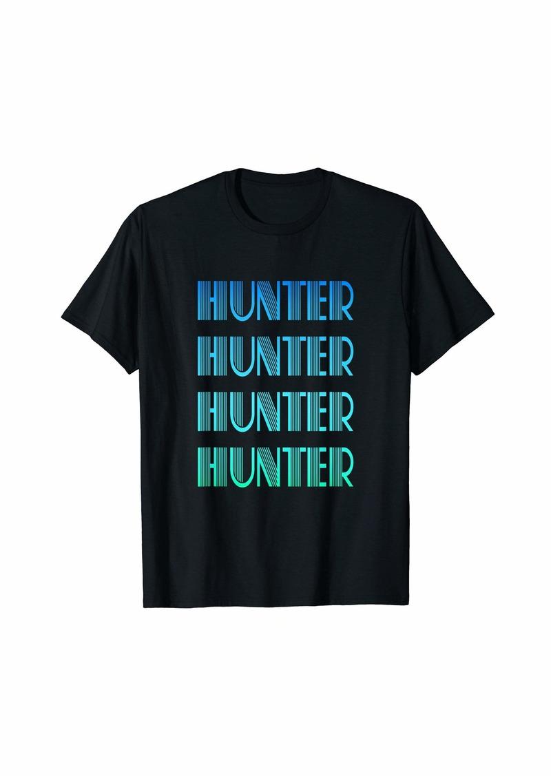 Hunter Name Gift for Boy Named Hunter T-Shirt