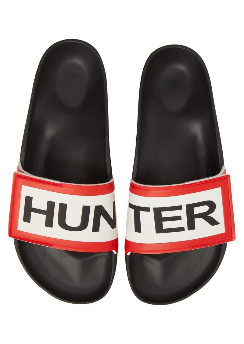 34e4e0d7be986 Hunter Hunter Original Adjustable Logo Slide Sandal (Men)
