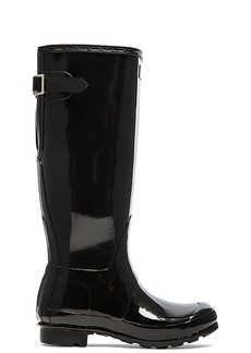 Hunter Original Back Adjustable Gloss Rain Boot