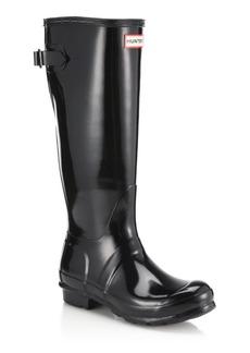 Hunter Original Back-Adjustable Gloss Rain Boots