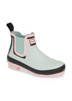 Hunter Original Colorblock Chelsea Rain Boot (Women)