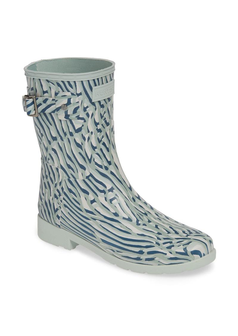 43518ead203 Original Coral Print Refined Short Waterproof Rain Boot (Women)