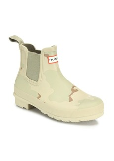Hunter Original Desert Camo-Print Chelsea Rubber Rain Booties