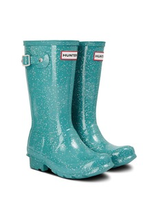 Hunter Original Giant Glitter Waterproof Rain Boot (Toddler, Little Kid & Big Kid)