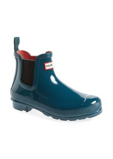 Hunter 'Original Gloss' Waterproof Chelsea Boot (Women)