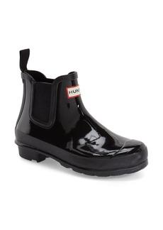 Hunter Original Gloss Waterproof Chelsea Boot (Women)