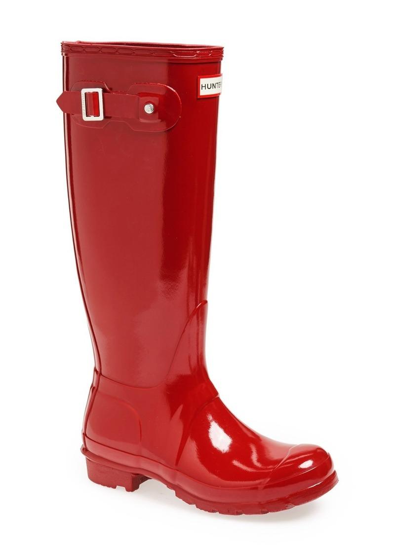 Hunter Original High Gloss Waterproof Boot (Women)