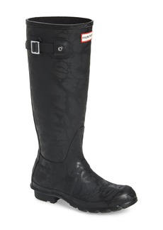 Hunter Original Knee High Waterproof Rain Boot (Women)
