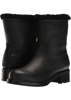 Hunter Original Lined Shearling Ankle Boot
