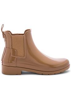 Hunter Original Refined Chelsea Gloss Boot