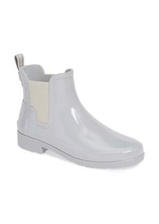 Hunter Original Refined Chelsea Waterproof Rain Boot (Women)