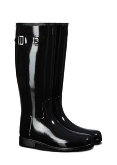 Hunter Original Refined Gloss Tall Waterproof Rain Boot (Women)