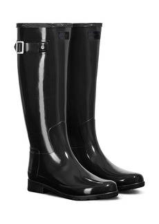 Hunter Original Refined High Gloss Waterproof Rain Boot (Women)