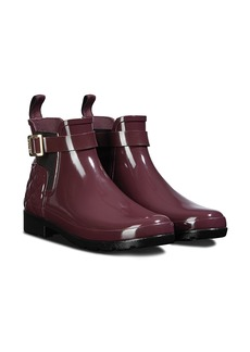 Hunter Original Refined Quilted Gloss Chelsea Waterproof Boot (Women)