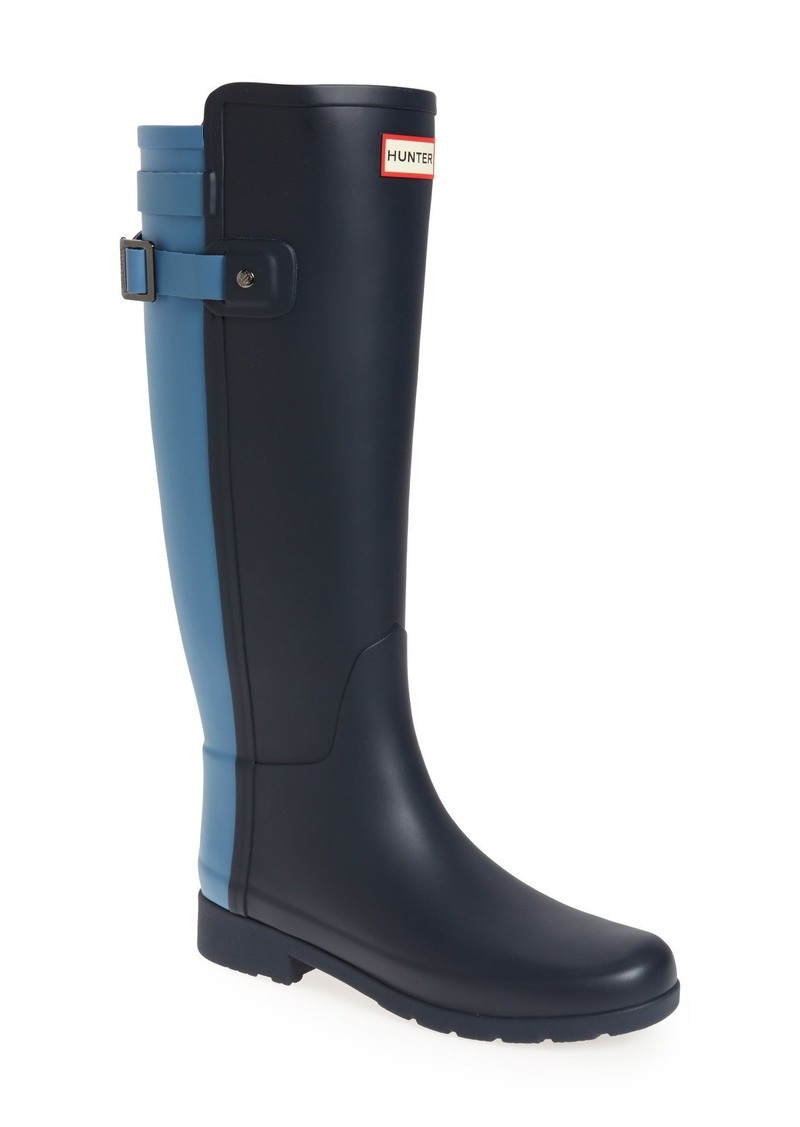 hunter hunter 39 original refined 39 rain boot women shoes shop it to me. Black Bedroom Furniture Sets. Home Design Ideas