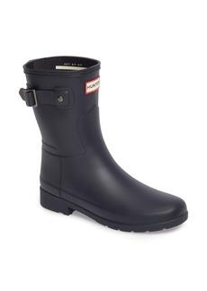 Hunter Original Refined Short Waterproof Rain Boot (Women)